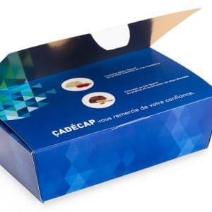 Ballotin personnalisé de 30 chocolats
