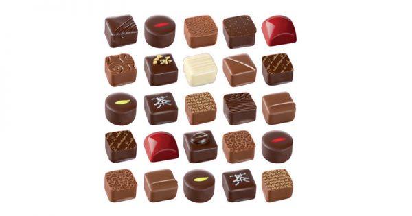 Coffret personnalisé de bonbons de chocolat 2