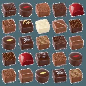 Chocolat et pralines à l'ancienne