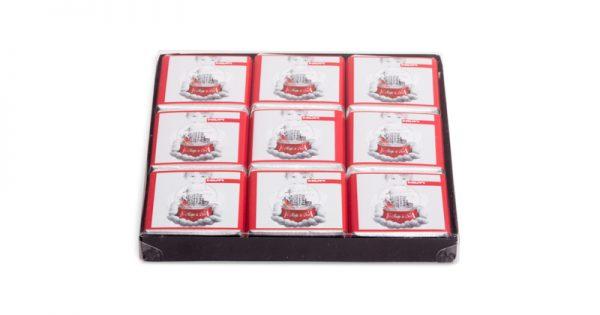 Boite de 18 chocolats personnalisés sans fourreau 1
