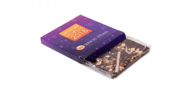 Tablette de chocolat avec étui personnalisé 4