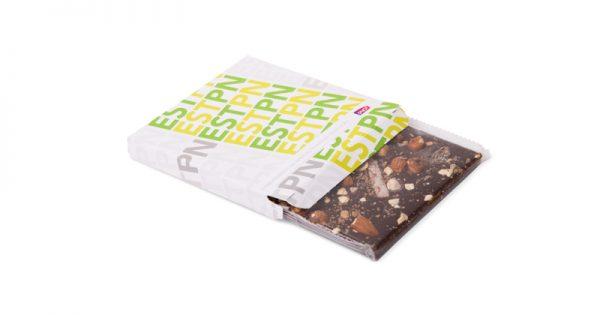 Tablette de chocolat avec étui personnalisé 2