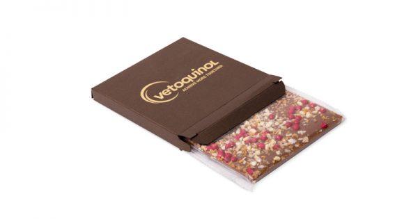 Tablette de chocolat avec étui personnalisé 6
