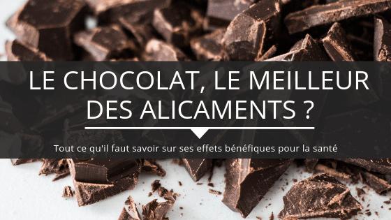 Le chocolat un alicament